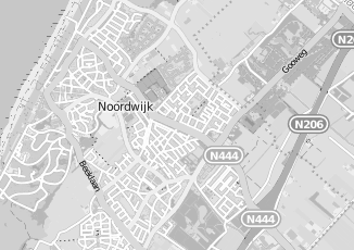 Kaartweergave van Hoven in Noordwijk Zuid Holland