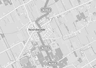Kaartweergave van Nieuwenhoven in Noordwolde Friesland