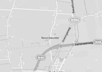 Kaartweergave van Lake side in Noordwolde Groningen