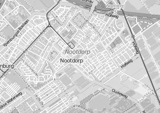 Kaartweergave van Kleij in Nootdorp