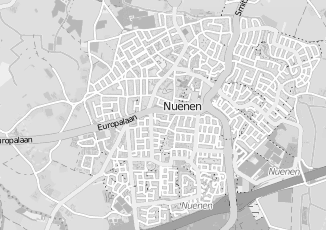 Kaartweergave van Hoek in Nuenen