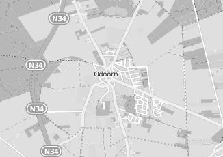 Kaartweergave van Groothandel in meubels in Odoorn