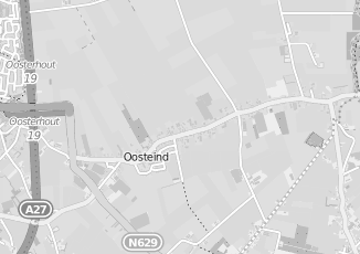 Kaartweergave van Dongen in Oosteind