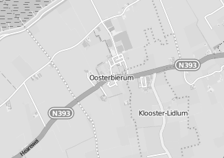 Kaartweergave van Biologische boerderij in Oosterbierum
