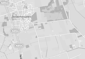 Kaartweergave van Corstius in Oosterhesselen