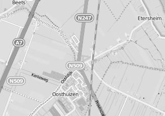 Kaartweergave van Cremer in Oosthuizen