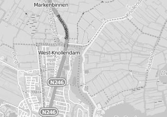 Kaartweergave van Evert klos in Oostknollendam
