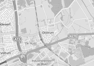 Kaartweergave van Achten in Oostrum Limburg
