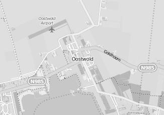 Kaartweergave van Ippel in Oostwold Gemeente Oldambt Groningen