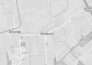 Kaartweergave van Dekker in Oostwoud