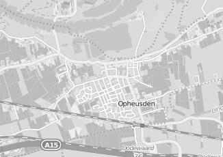 Kaartweergave van Kringloopwinkel in Opheusden