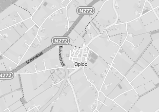 Kaartweergave van Albert heijn in Oploo