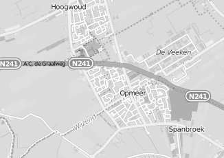 Kaartweergave van Appel in Opmeer
