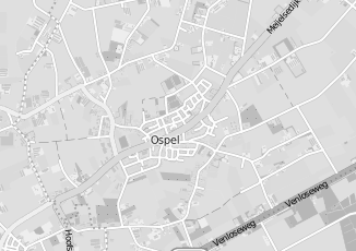 Kaartweergave van Albert heijn in Ospel