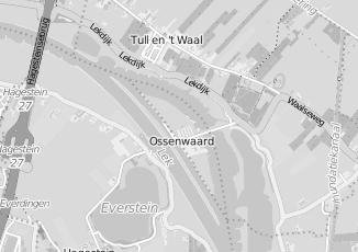 Kaartweergave van Kringloopwinkel in Ossenwaard