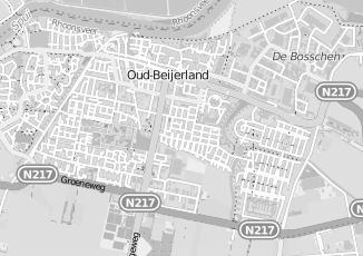 Kaartweergave van Brinkman in Oud Beijerland