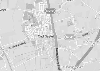 Kaartweergave van Janssen in Oud Gastel