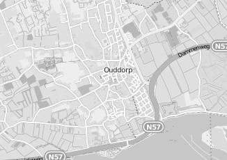 Kaartweergave van Oostenbrugge in Ouddorp