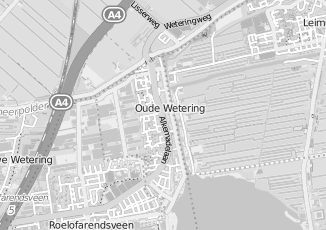 Kaartweergave van Kerkvliet in Oude Wetering