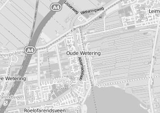 Kaartweergave van Rombout kappers in Oude Wetering