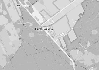 Kaartweergave van P bennema in Oude Willem