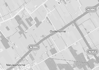 Kaartweergave van Rdw in Oudehorne