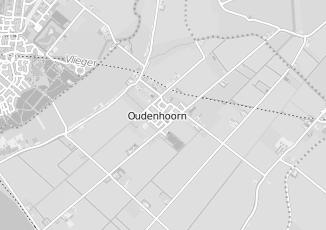 Kaartweergave van Albert heijn in Oudenhoorn