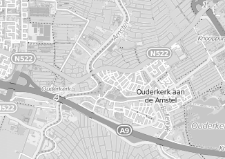 Kaartweergave van Milieustraat in Ouderkerk Aan De Amstel