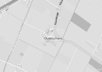 Kaartweergave van Milieustraat in Oudeschans