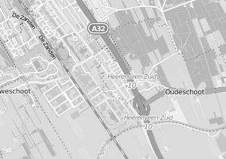 Kaartweergave van Rdw in Oudeschoot