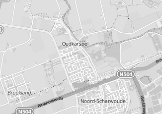 Kaartweergave van Loonbedrijven in Oudkarspel