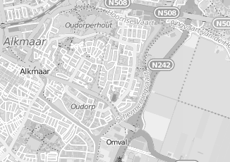 Kaartweergave van Oud in Oudorp