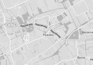 Kaartweergave van Milieustraat in Paasloo