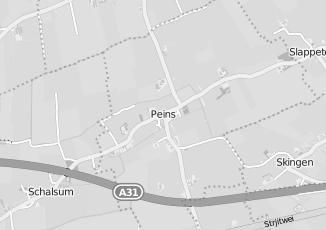 Kaartweergave van Autobedrijf in Peins