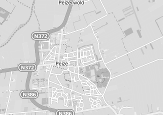 Kaartweergave van Koster in Peize