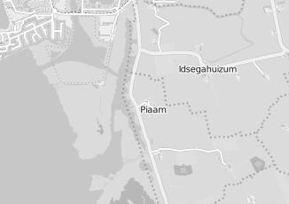 Kaartweergave van Bad in beeld in Piaam
