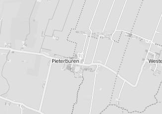Kaartweergave van Bekkema in Pieterburen