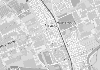 Kaartweergave van Oudshoorn in Pijnacker