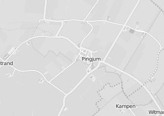 Kaartweergave van Karwei in Pingjum