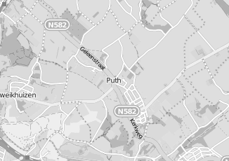 Kaartweergave van Action in Puth