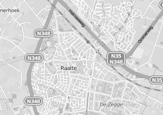 Kaartweergave van Bruijn in Raalte