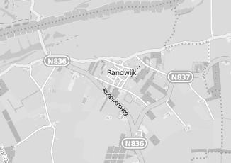 Kaartweergave van Manen in Randwijk