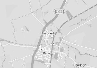 Kaartweergave van Action in Rasquert