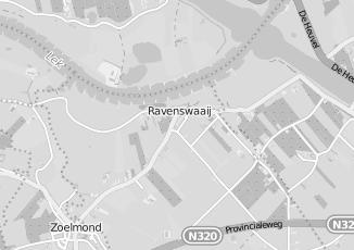 Kaartweergave van Wijk in Ravenswaaij