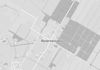 Kaartweergave van Supermarkt in Ravenswoud