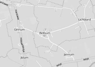 Kaartweergave van Karwei in Reitsum
