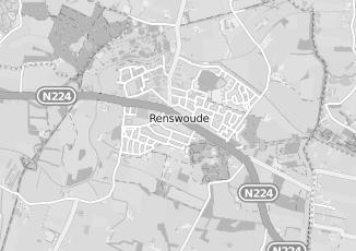 Kaartweergave van Nieuwenhuis in Renswoude