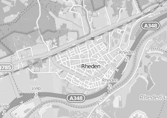 Kaartweergave van Tuinarchitect in Rheden