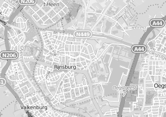 Kaartweergave van Bouwman in Rijnsburg