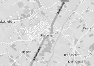 Kaartweergave van Riel in Rijsbergen